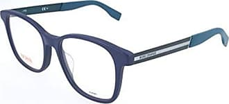 Hugo Boss BO-0230-LHE-16-55-16-140 Orange Brillengestelle BO-0230-LHE-16-55-16-140 Rechteckig Brillengestelle 55 Blau