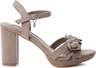 XTI Tenations 35044 Sandals with Heel Woman Taupe 36