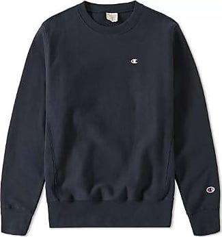 Champion Navy Reverse Weave Classic Rundhalspullover - cotton | xl | navy - Navy