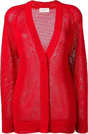 Zanone knit V-neck cardigan - Red