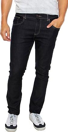 Lacoste Calça Jeans Lacoste Slim Stretch Azul-Marinho 796cc84787