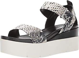 Franco Sarto Womens VANJIE Wedge Sandal Natural 5.5 M US