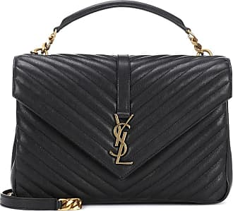Saint Laurent Borsa Collège Monogram Large in pelle ac1d07e3f74
