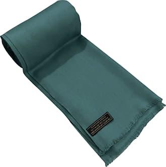 CJ Apparel Jade Green Fringe Solid Colour Design Shawl Scarf Wrap Stole Throw Pashmina Pashminas CJ Apparel NEW