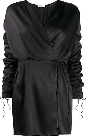 Oséree Vestido envelope - Preto