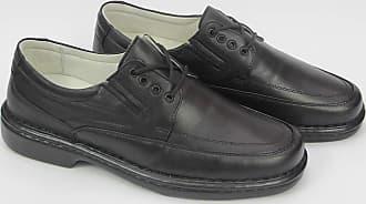 Generico Sapato social masculino, semi- ortopédico em legitimo couro mestiço(pelica), solado de borracha modelo CR-1004 (37, CR1004 Mestiço Prreto)