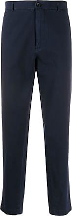 Department 5 Calça chino cintura alta - Azul
