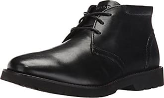 Rockport Mens Hadden Chukka Boot- Black-10.5 W 8bc40ddbaf3