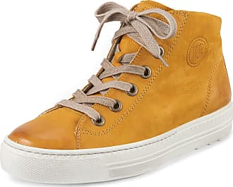 Paul Green Ankle-high sneakers Paul Green yellow