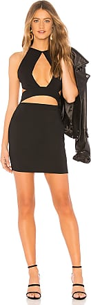 by the way. Missy Keyhole Cut Out Dress in Black