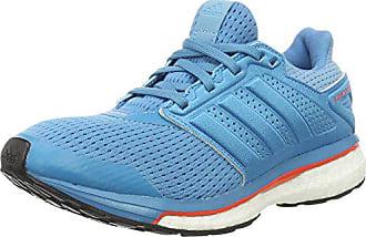 half off 83c1b 35f8f adidas Supernova Glide 8, Chaussures de Running Compétition Femme, Bleu  (Craft Vapour Blue