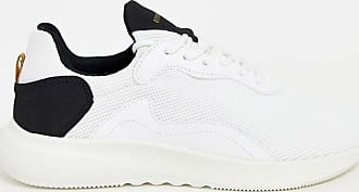 Bershka mesh runner trainer in white with contrast detailing