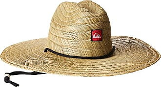 Quiksilver Mens Pierside Straw Sun Hat, Natural, Small/Medium