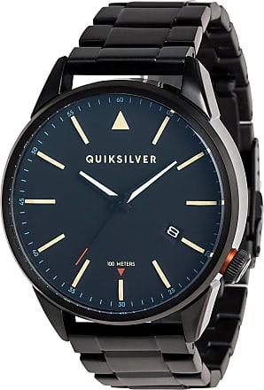 Quiksilver The Timebox Metal - Analogue Watch - Men - ONE SIZE - Black