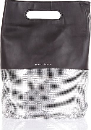 Paco Rabanne Hand Bags Black and silver