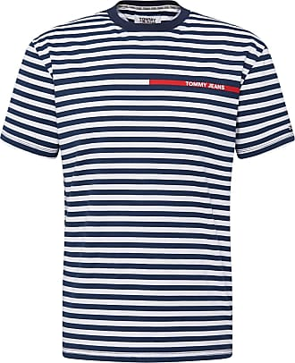 Tommy Jeans T-Shirt weiß / navy