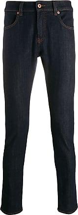 Natural Selection Calça jeans skinny com detalhe contrastante - Azul