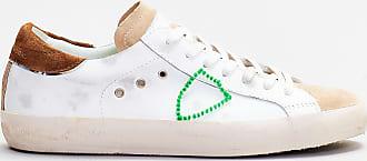 Philippe Model Philippe model sneaker dettagli cuoio - bianco