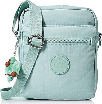 Kipling Livie Bag, Adjustable Crossbody Strap, Zip Closure, Fern Green