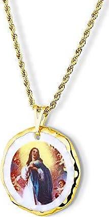 Design Medalhas Medalha Nossa Senhora Imaculada Conceição Ouro Pequena