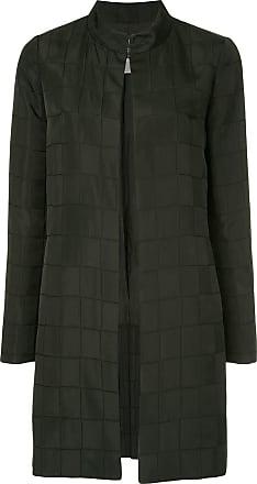 Chanel long sleeve coat jacket - Black