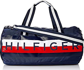 abb5daf6c3 Tommy Hilfiger Mens Duffle Bag Tommy Patriot Colorblock, Navy