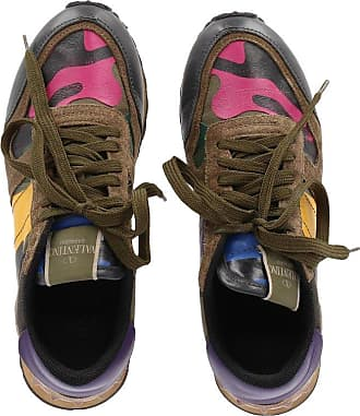 7dcc0cdbfcc Valentino 2010s Camouflage Rockrunner Valentino Sneaker