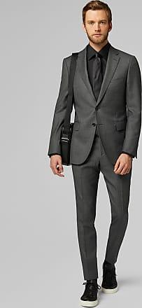 Boggi Milano giacca da abito grigio medio paris in lana