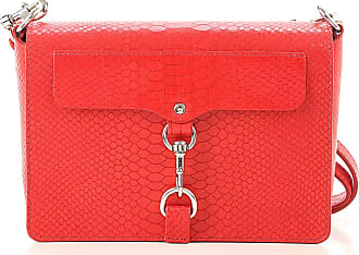 Rebecca Minkoff Shoulder Bag for Women On Sale, Bright Red, Leather, 2017, one size