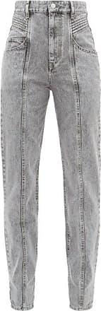 Isabel Marant Henoya Boyfriend Jeans - Womens - Grey