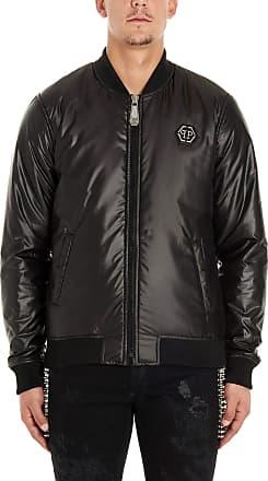 Philipp Plein Fashion Man MRB1419PTE003N02 Black Polyester Outerwear Jacket | Spring Summer 20