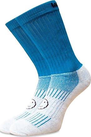 Wackysox Wackysox Calf Length Sports Socks - Turquoise