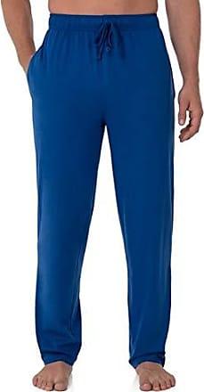 Fruit Of The Loom Mens Jersey Knit Sleep Pant, Mazarine Blue, Medium