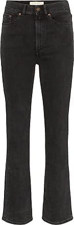 Jeanerica Calça jeans cintura alta - Preto