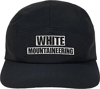 White Mountaineering Logo Baseball Cap Mens Navy Blue