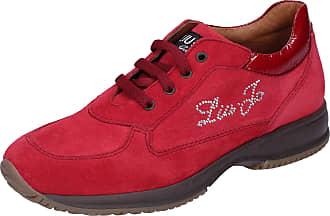 Liu Jo Baby-Girls Suede Red Fashion-Sneakers 13 UK Child