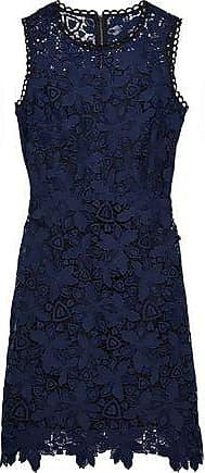 Elie Tahari Elie Tahari Woman Guipure Lace Dress Indigo Size 14