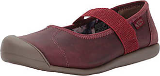 Keen Womens Sienna mj Leather-w Fashion Sneaker, Cinnamon Roll/Syrah, 5.5 M US