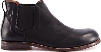 72dc0fb25928 Moma Herren Schuhe Stiefeletten 12706-BA Bandolero Nero Leder Schwarz  Vintage It