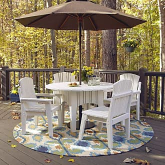 UWharrie Chair Outdoor Uwharrie Carolina Preserves 48-in. Round Patio Dining Table - C094-024P