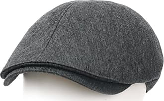 Ililily New Mens Cotton Flat Cap Cabbie Hat Gatsby Ivy Caps Irish Hunting Hats Newsboy with Stretch fit (flatcap-004-1)