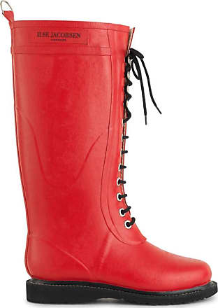 Ilse Jacobsen Isle Jacobsen Rubber, Womens Wellington Boots, Red (Deep Red), 6.5 UK (39 EU)