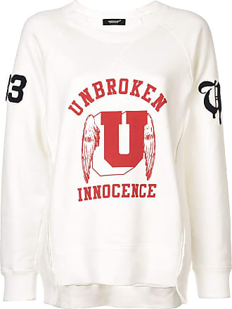 Undercover Blusa de moletom Innocence - Branco