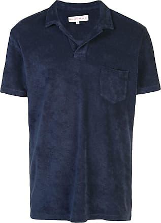 Orlebar Brown Camisa polo Terry - Azul