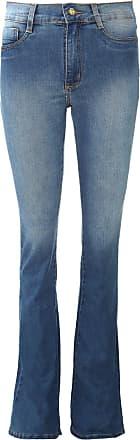 Sawary Calça Jeans Sawary Bootcut Estonada Azul