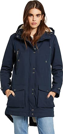 Volcom Walk On By 5K Parka sea navy
