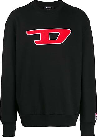 Diesel Denim Division patch sweatshirt - Black