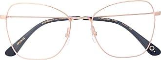 Etnia Barcelona oversized frame glasses - Dourado