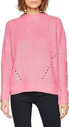 Warehouse Damen Pullover Lace Insert, (Pale Pink Marl), 36