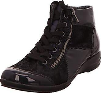 rieker damen y5513 kurzschaft stiefel übergröße